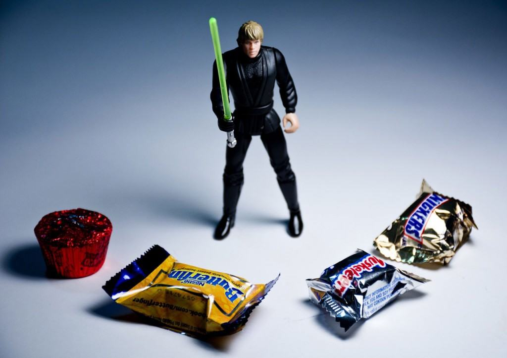 You don't have to be a Jedi knight to fight temptation