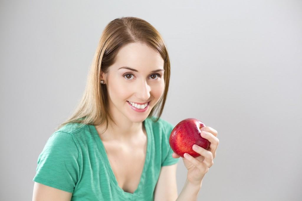 You can even have just one apple as a meal